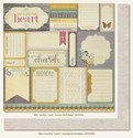 "Miss Caroline: """"Love"""" Journal 12 x 12 Double-Sided Paper"