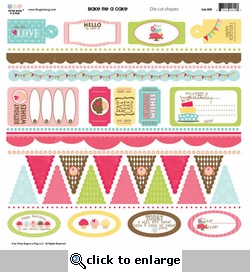 Bake Me a Cake: Cardstock Sticker Sheet