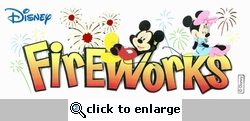 Disney Fireworks Dimensional Stickers