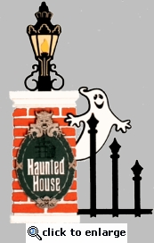 Haunted House Die-Cut