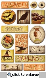 Wicked: Epoxy Stickers