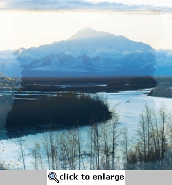 Beautiful Alaska: Mt. McKinley 12 x 12 Paper