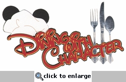 Theme Park: Dining With Character Laser Die Cut