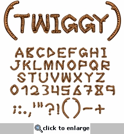 Digital Download: Twiggy Alpha Set