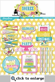 Soiree Dimensional Stickers