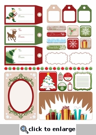 Digital Download: Holiday 2011 Embellishment Pack