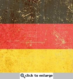 German Flag 12 x 12 Paper