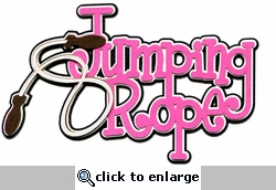 Jumping Rope Laser Die Cut