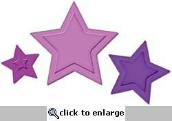 Presto Punch: Stars Cutting and Embossing Template