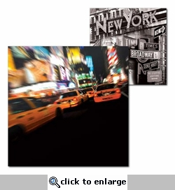 New York: Times Square 12 x 12 Double-Sided Cardstock