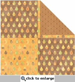 Orchard Harvest: Pear Orchard 12 x 12 Double-Sided Paper