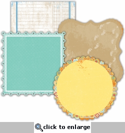 Boardwalk:Decorative Edge Cardstock 6 x 6 Specialty Cardstock
