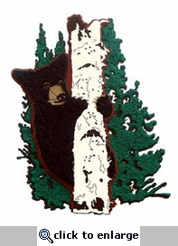 Bear In Tree Die Cut
