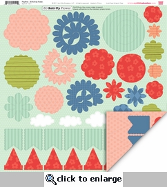 Playtime: 3-Dimensional Roll Up Flower Die Cut