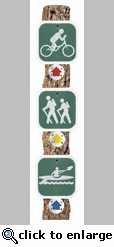 Trail Markers Mini Die Cut