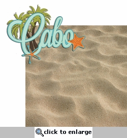 Paradise Found: Cabo 2 Piece Laser Die Cut Kit