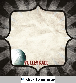 Sports: Volleyball 12 x 12 Paper