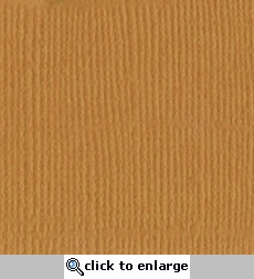 Marigold Canvas 12 X 12 Bazzill Cardstock (Orange)