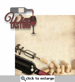The Winery: Wine Tasting 2 Piece Laser Die Cut Kit