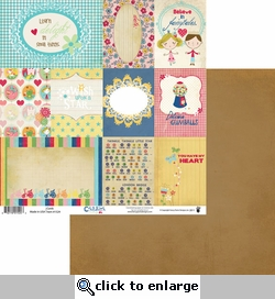 Childish Things: Cards 12 x 12 Double-Sided Paper