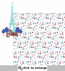 Bonjour: Paris 2 Piece Laser Die Cut Kit