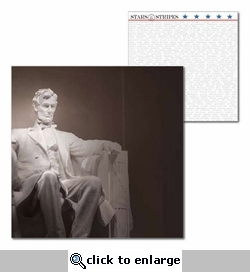 Washington D.C.: Lincoln 12 x 12 Double-Sided Cardstock