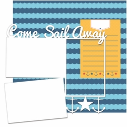 Anchors Aweigh: Come Sail Away Panorama