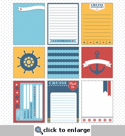 Anchors Aweigh: Journaling Cards