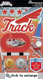 Real Sports: Track 3D Sticker