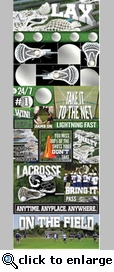 Real Sports: LaCrosse Graphic Sticker