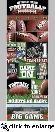 Real Sports: Football Graphic Sticker