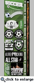 Real Sports: Soccer Combo Sticker