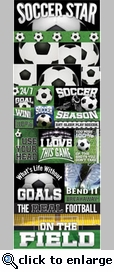 Real Sports: Soccer Graphic Sticker