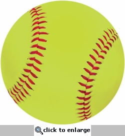 Real Sports: Softball Die Cut Paper