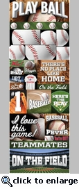 Real Sports: Baseball Graphic Sticker