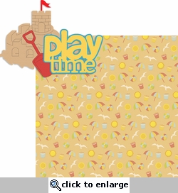 Life's A Beach: Play Time 2 Piece Laser Die Cut Kit