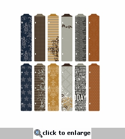 Project Life: Cinnamon Edition Designer Dividers (12 Pack)