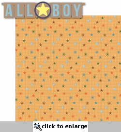 Brothers:  All Boy 2 Piece Laser Die Cut Kit