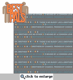 Brothers: Best Pals 2 Piece Laser Die Cut Kit