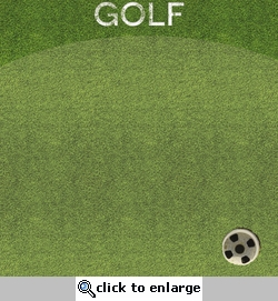Sports Galore: Golf 12 x 12 Paper