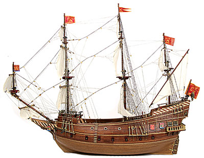 San Marcos Spanish Galleon