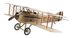 Spad XIII (French) Wood Airplane Model (Large)