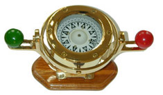 Gimballed Table Compass
