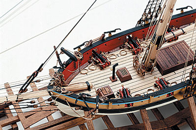 Armed Virginia Sloop Wood Model Kit