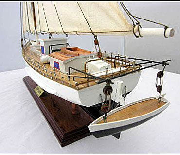Skipjack Wood Model Boat