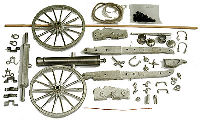 6-pounder James Cannon Kit