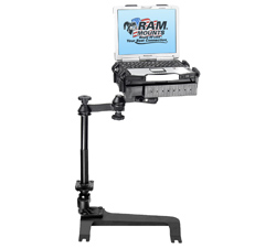 RAM-VB-159-SW1: RAM No-Drill� Laptop Stand System for Chevrolet Avalanche (2007-Newer), Chevrolet Silverado (2007-2010), Chevroelt Silverado 1500 (2011), Chevroelt Silverado 2500 HD (2011), Chevroelt Silverado 3500 HD (2011), Chevrolet Suburban (2007-Newer), Chevrolet Suburban (deluxe power seats) (2007-Newer), Chevrolet Tahoe (front bucket seats only) (2007-Newer), GMC Sierra (2007-Newer), GMC Yukon (2007-Newer), Hummer H2 (2003-Newer)