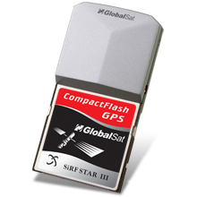 GlobalSat BC-337 Compact Flash GPS Receiver (SiRF III) (OPEN BOX)