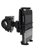 SM532: Arkon Bicycle or Motorcycle Handlebar Mount with Bungee Style Secure Strap and Slim-Grip Universal Smartphone Holder