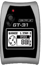 Locosys Genie GT-31 Waterproof Sport GPS Data Logger with SD Expansion Slot